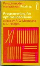 Programming for Optimal Decisions (Modern Management Readings)