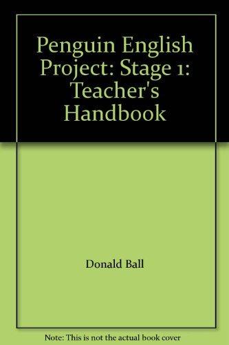 9780140801538: Penguin English Project: Stage 1: Teacher's Handbook