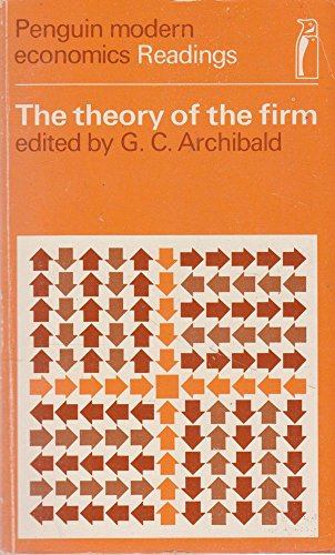 9780140802047: The Theory of the Firm (Penguin modern economics readings)