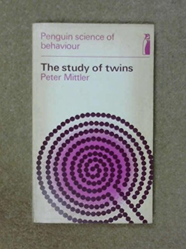 9780140802108: Study of Twins (Penguin science of behaviour, abnormal and clinical psychology)