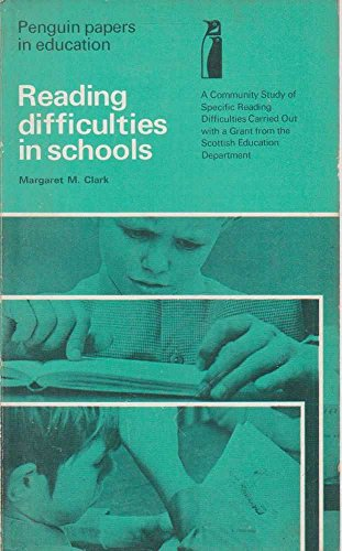 9780140802139: Reading Difficulties in Schools (Papers in Education)