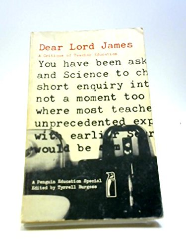 9780140802313: Dear Lord James (Penguin education specials)