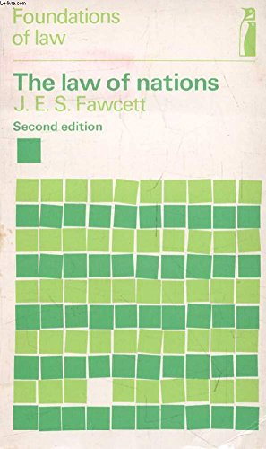 Law of Nations (Penguin education): Fawcett, J.E.S.