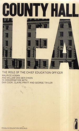 9780140803617: County Hall: The Role of the Chief Education Officer
