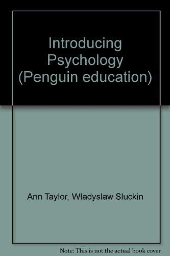 9780140804560: Introducing Psychology (Penguin education)