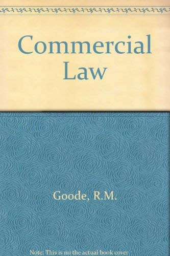 9780140804591: Commercial Law