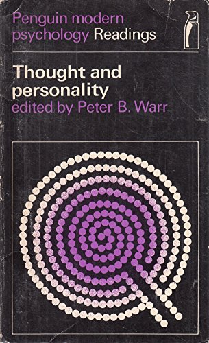 9780140805253: Thought and Person (Modern Psychology)