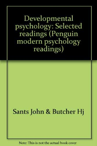 9780140805543: Developmental psychology: Selected readings (Penguin modern psychology readings)
