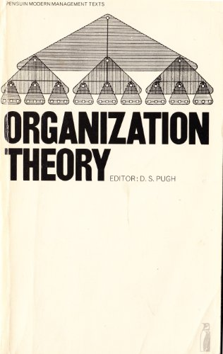9780140806014: Organization Theory: Selected Readings (Modern Management Readings)