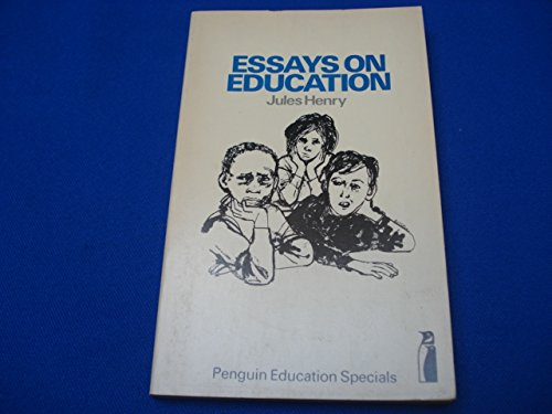 9780140806120: Essays on Education (Penguin education specials)