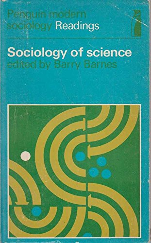 9780140806199: Sociology of Science (Modern Sociological Readings)