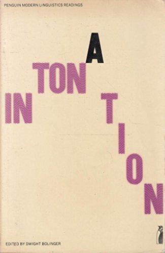 Intonation: selected readings; (Penguin education): Bolinger, Dwight Le