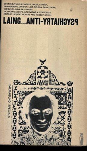 9780140806823: Laing and anti-psychiatry; (Salmagundi specials)