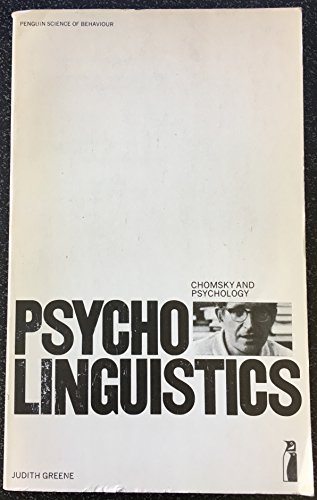 9780140807042: Psycholinguistics: Chomsky and Psychology (Penguin Modern Psychology)