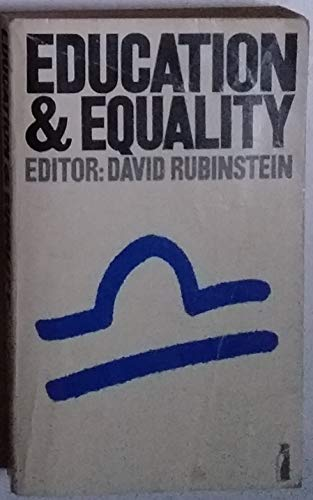 9780140808131: Education and Equality (Penguin Education)