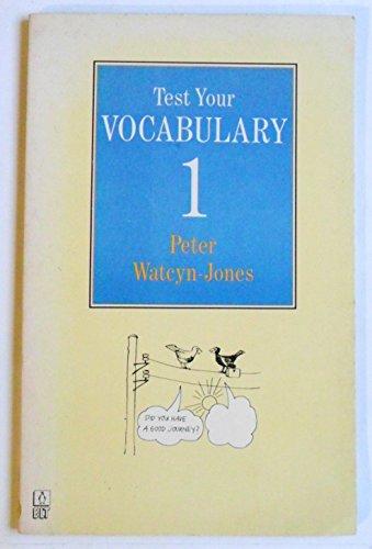 9780140808513: Test Your Vocabulary: Bk. 1 (English Language Teaching S.)