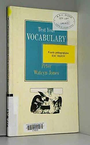 9780140808537: Test Your Vocabulary: Bk. 3 (English Language Teaching)