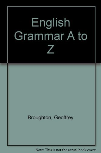 9780140808629: English Grammar A to Z
