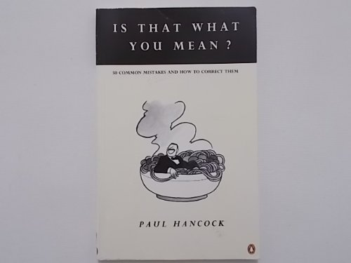9780140809916: Is That What You Mean? (English Language Teaching)