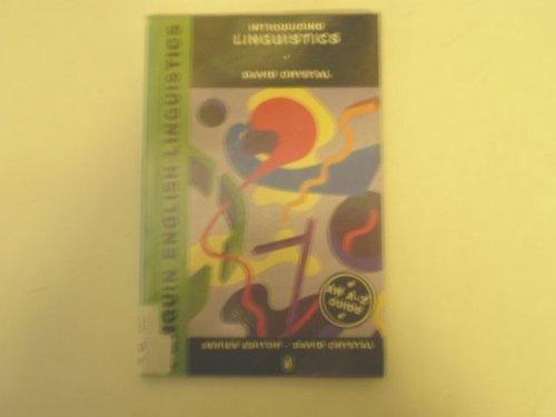 9780140810172: Introducing Basic Linguistics (Penguin English Linguistics)