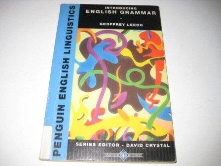 9780140810219: Introducing English Grammar (Penguin English Linguistics)