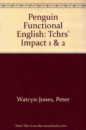 9780140813265: Penguin Functional English: Tchrs' Impact 1 & 2