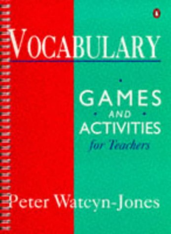 9780140813869: Vocabulary, Games And Activities For Teachers (Penguin English)