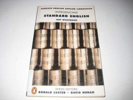 Penguin English Applied Linguistics: Introducing Standard English: Jeff Wilkinson