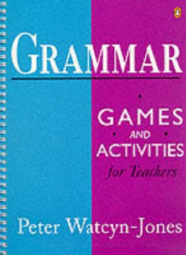 9780140814590: Grammar Games and Activities for Teachers: 1 & 2 (Combined 1st Edition) (Penguin English Photocopiables)