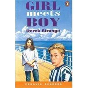 9780140815351: Girl Meets Boy (Penguin Readers)