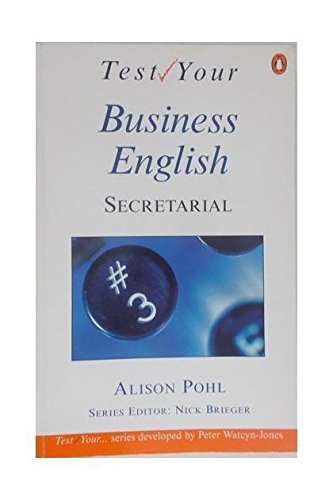 9780140816235: Test Your Business English: Secretarial
