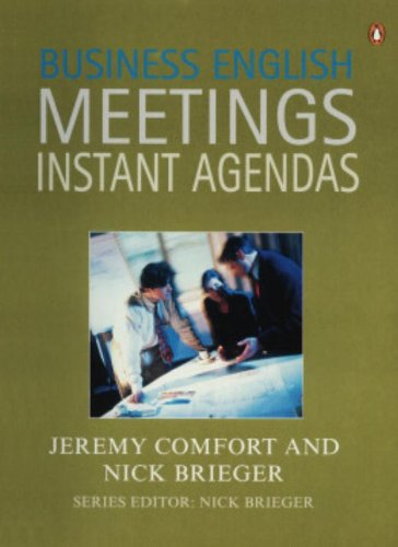 9780140816624: Business English Meetings: Instant Agendas (Penguin English)