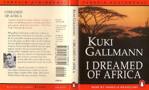 9780140860351: I Dreamed of Africa