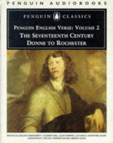 9780140861310: Penguin English Verse: Seventeenth Century - Donne to Rochester v. 2 (Penguin Classics)