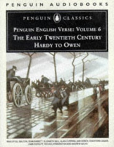 9780140861358: English Verse: Volume 6: The Early Twentieth Century: Hardy to Owen (Penguin Classics)