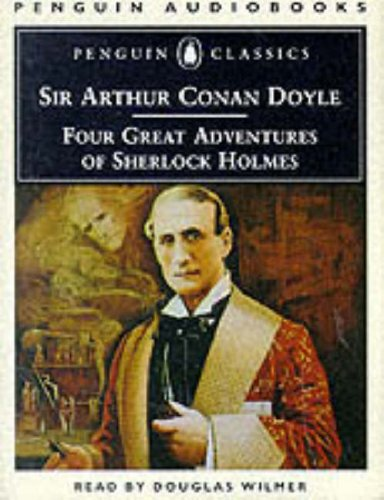 9780140862188: Four Great Adventures of Sherlock Holmes (Penguin audiobooks)