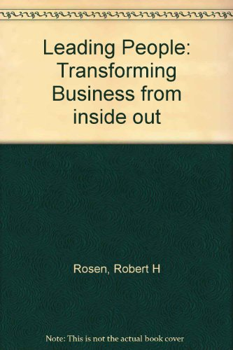9780140862652: Leading People: Transforming Business Inside Out
