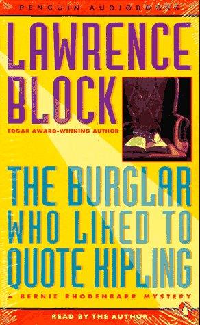 9780140863451: The Burglar Who Liked to Quote Kipling: A Bernie Rhodenbarr Mystery
