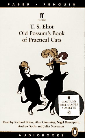 Old Possums Book Of Practical Cats Poetry By T S Eliot