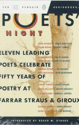 9780140867398: Poet's Night: 11 Leading Poets Celebrate 50 Years Poetry Farrar Straus Giroux