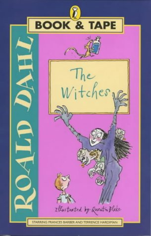 9780140868708: The Witches (Puffin audio book & tape packs)