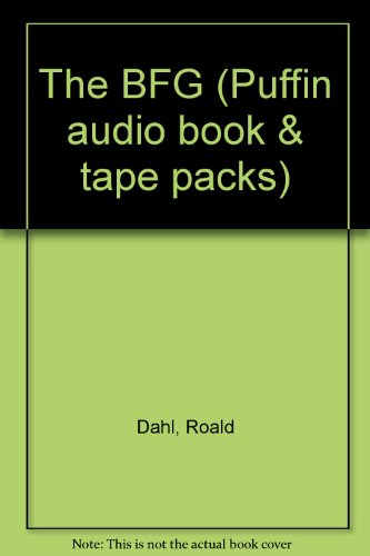 9780140868746: The Bfg (Puffin Audio Book & Tape Packs)