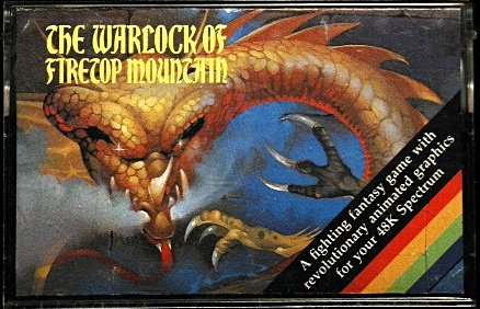 9780140880984: The Warlock of Firetop Mountain Computer Tape:'Spectrum'