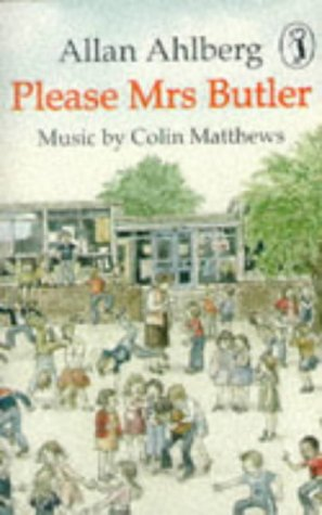 9780140883732: Please Mrs. Butler (Puffin Cover to Cover Story Tape)