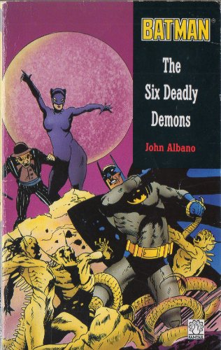 9780140903829: Batman: The Six Deadly Demons (Fantail)