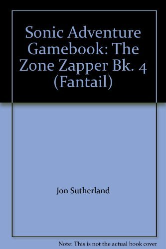 9780140904079: Sonic Adventure Gamebook: The Zone Zapper Bk. 4 (Fantail)