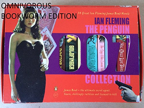 9780140911497: James Bond Boxed Set: Octopussy and the Living Daylights / The Spy Who Loved Me / The Man with the Golden Gun / Casino Royale / For Your Eyes Only / ... Secret Service / Thunderball / Goldfinger