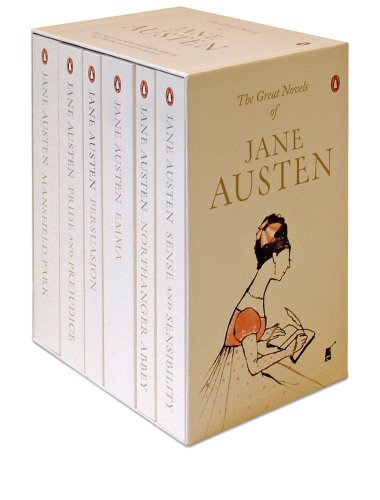 9780140911527: Jane Austin 6 Books Box Set