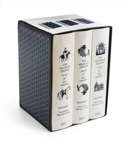 9780140911664: Arabian Nights 3 Volume Gift Set,The: Tales Of 1001 Nights