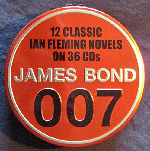 9780140911916: James Bond 007 - 12 Classic Ian Fleming Novels on 36 CDs , read by Rufus Sewell & Samantha Bond
